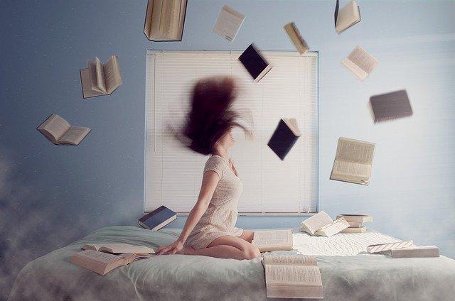 kobieta i książki